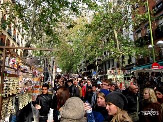 El Rastro, Madrid, Spain