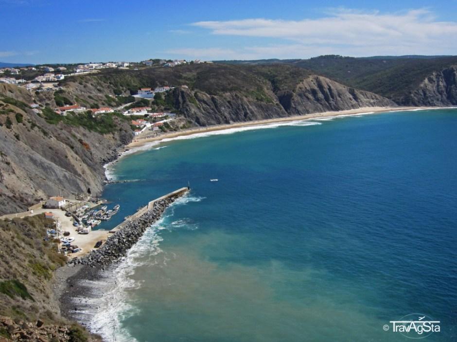 Praia da Arrifana, Costa Vicentina, Algarve, Portugal