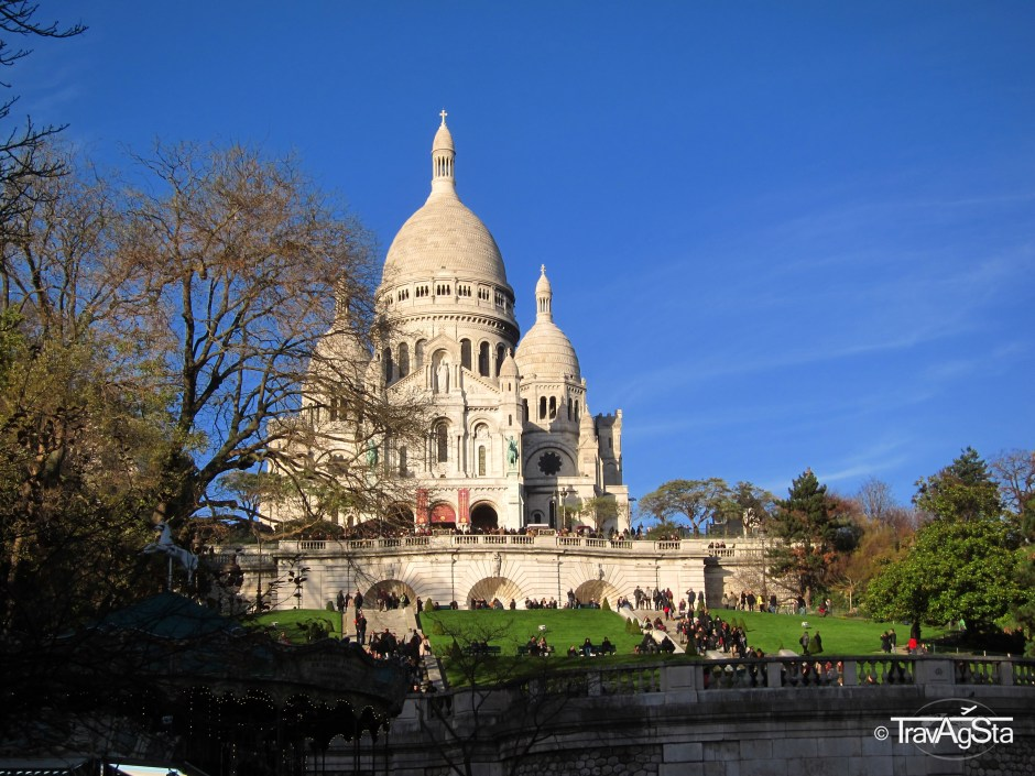 Sacre-Coeur, Montmatre, Paris, France