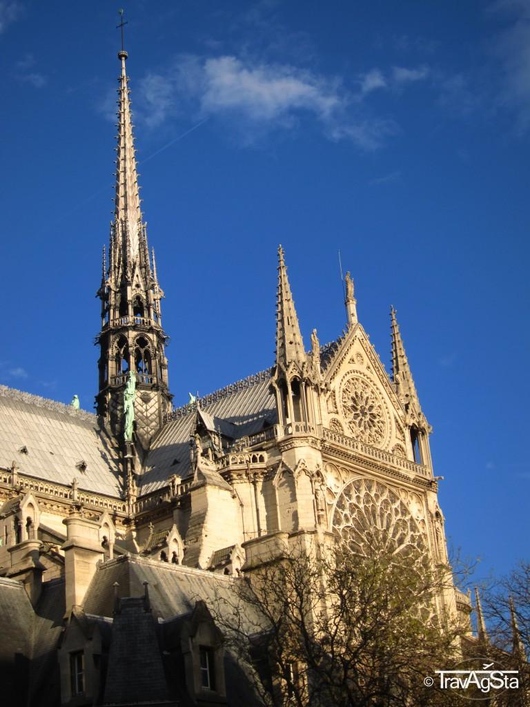 Cathédral de Notre-Dame, Paris, France