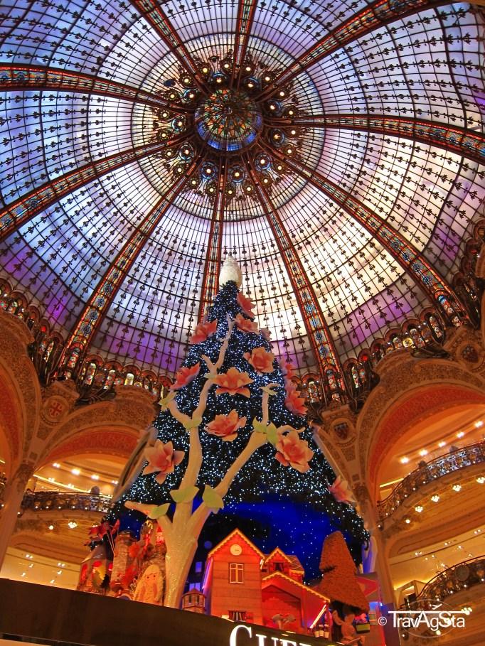 Galeries Lafayette, Paris, France