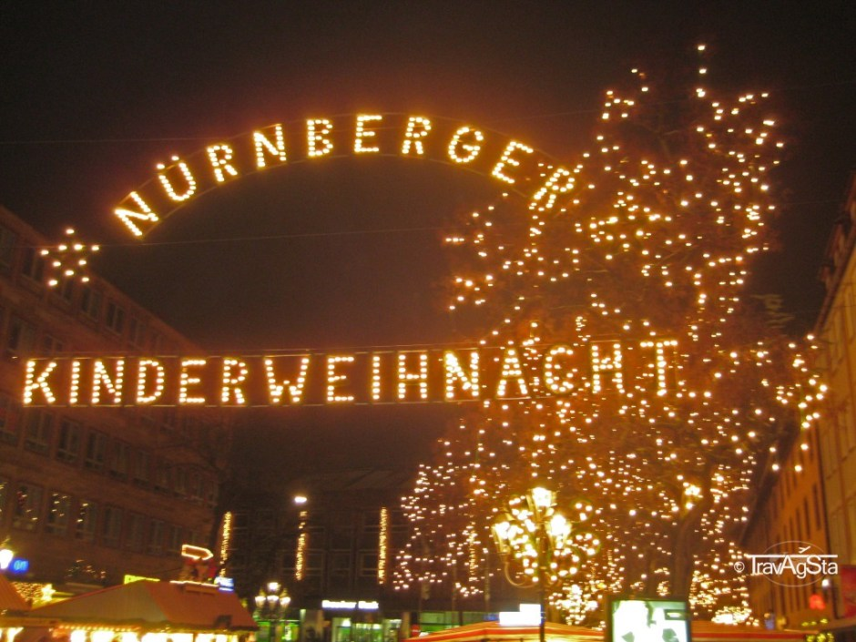 Nürnberger Christkindlesmarkt, Nuremberg, Germany