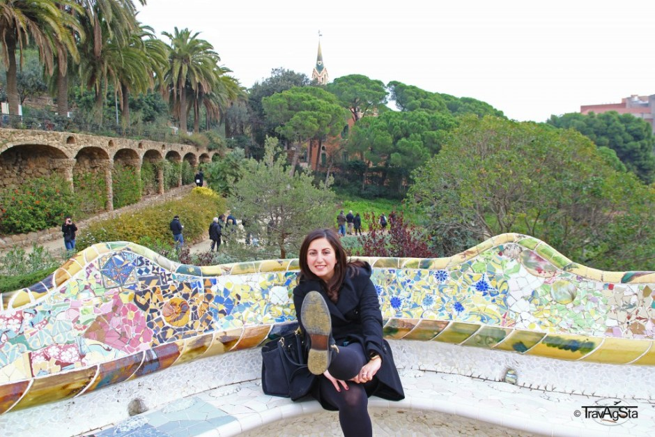 Park, Güell, Barcelona, Spain