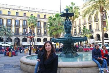 Plaça Reial, Barcelona, Spain