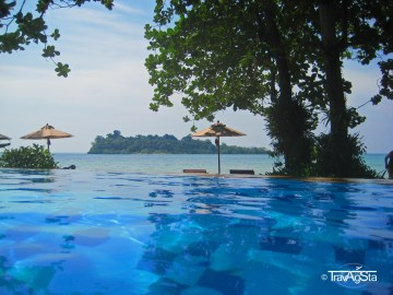 Infinity Pool Sea View Resort, Ko Chang, Thailand