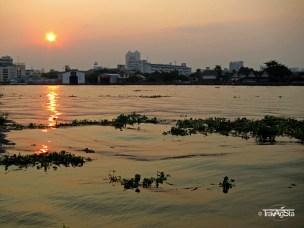 Chao Praya River, Bangkok, Thailand