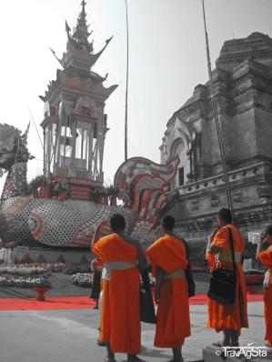 War Chedi Luang, Chiang Mai, Thailand