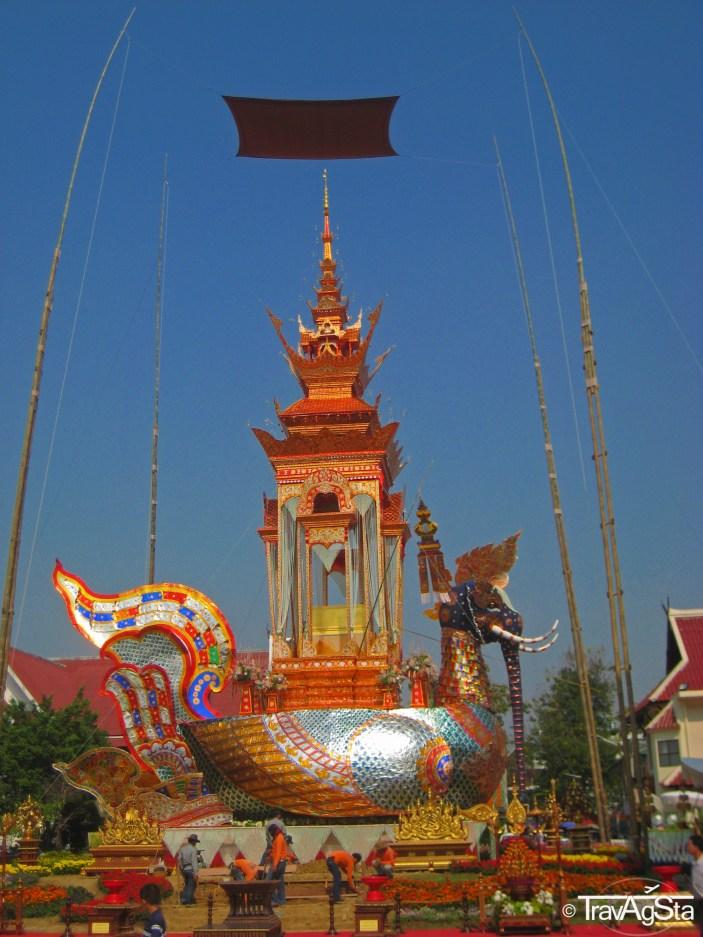 Wat Chedi Luang, Chiang Mai, Thailand