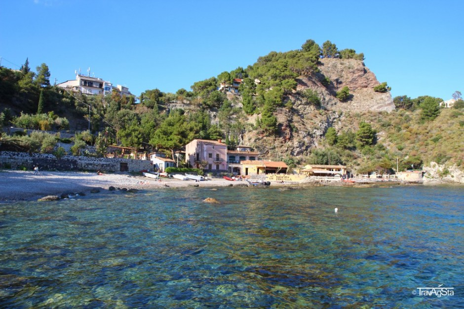 Spiagga Mazzaró, Isola Bella, Sicily, Italy