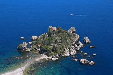 Isola Bella, Taormina, Sicily, Italy