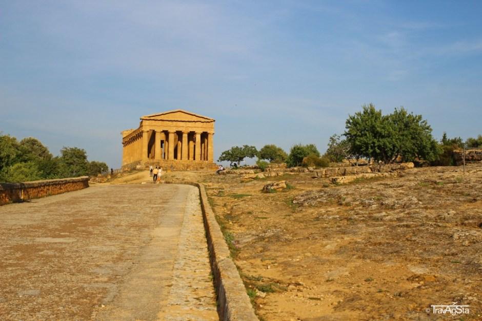 Valle dei Templi, Agrigento, Sicily, Italy