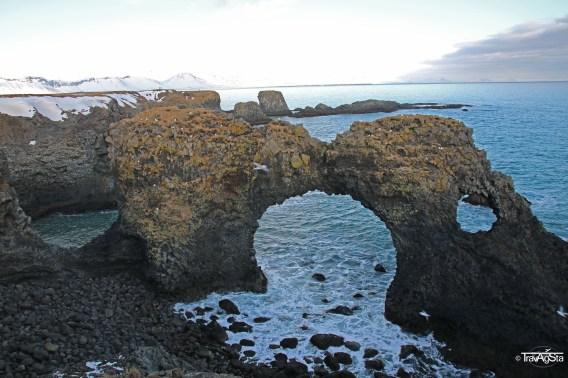Gatklettur, Arnarstapi, Snaefellsness, Iceland