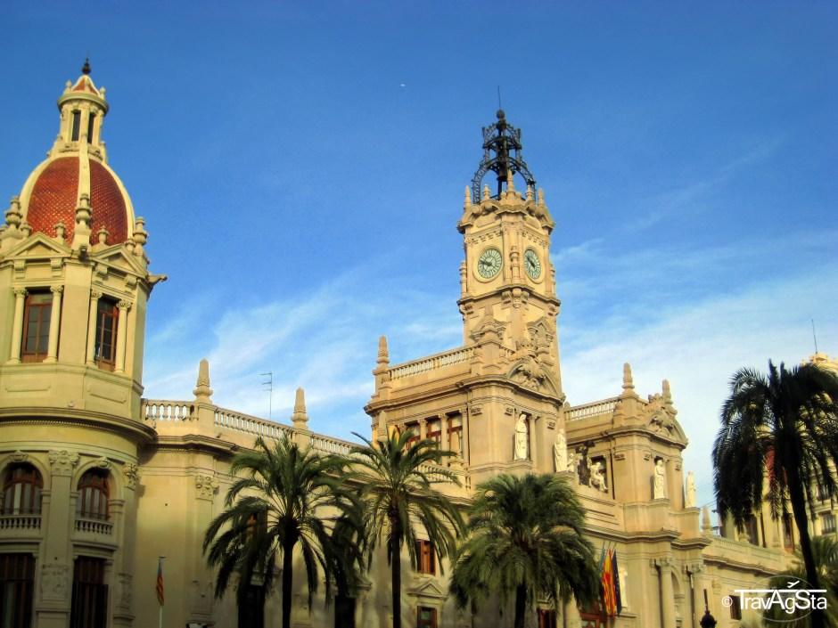 Ayuntamiento, Valencia, Spain