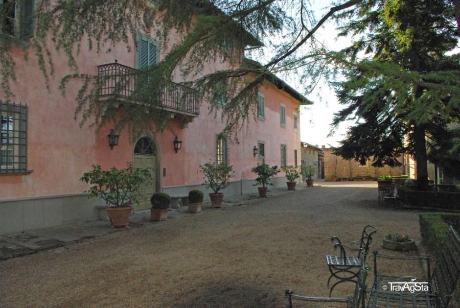 Villa Barberino, Meleto, Tuscany, Italy