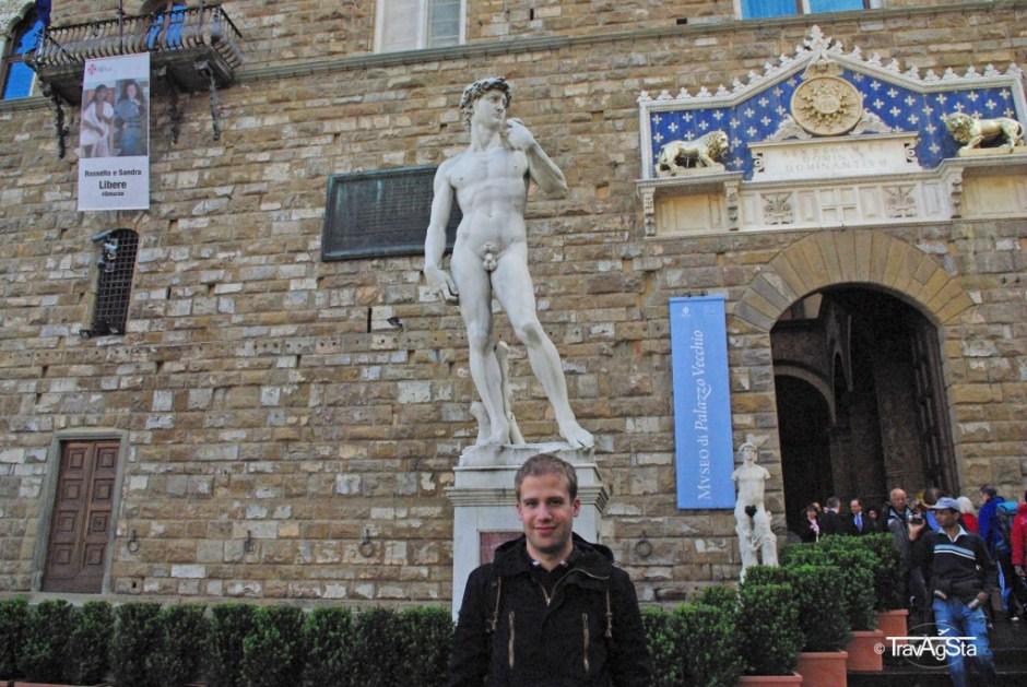 Michelangelo's David, Florence, Tuscany, Italy