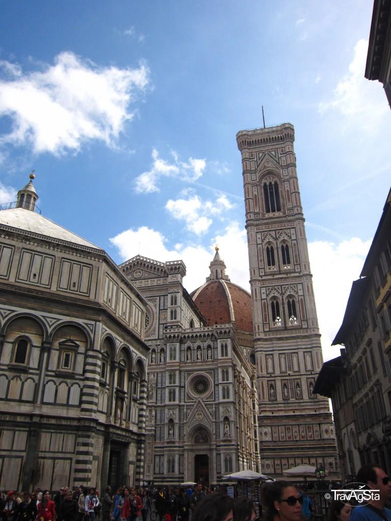 Campanile di Giotto, Piazza del Duomo, Florence, Tuscany, Italy