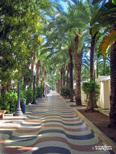 Explanada, Alicante, Spain