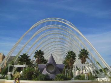 L'Umbracle, Valencia, Spain