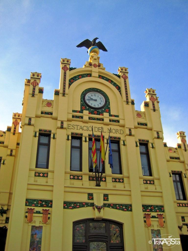 Estación del Norte, Valencia, Spain