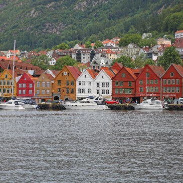 Norway, Fjords, Bergen, Rain, Fish!