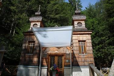 Russian Orthodox chapel, Triglav National Park, Slovenia