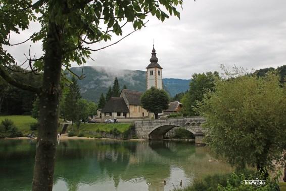 Lake Bohinj, Triglav National Park, Slovenia