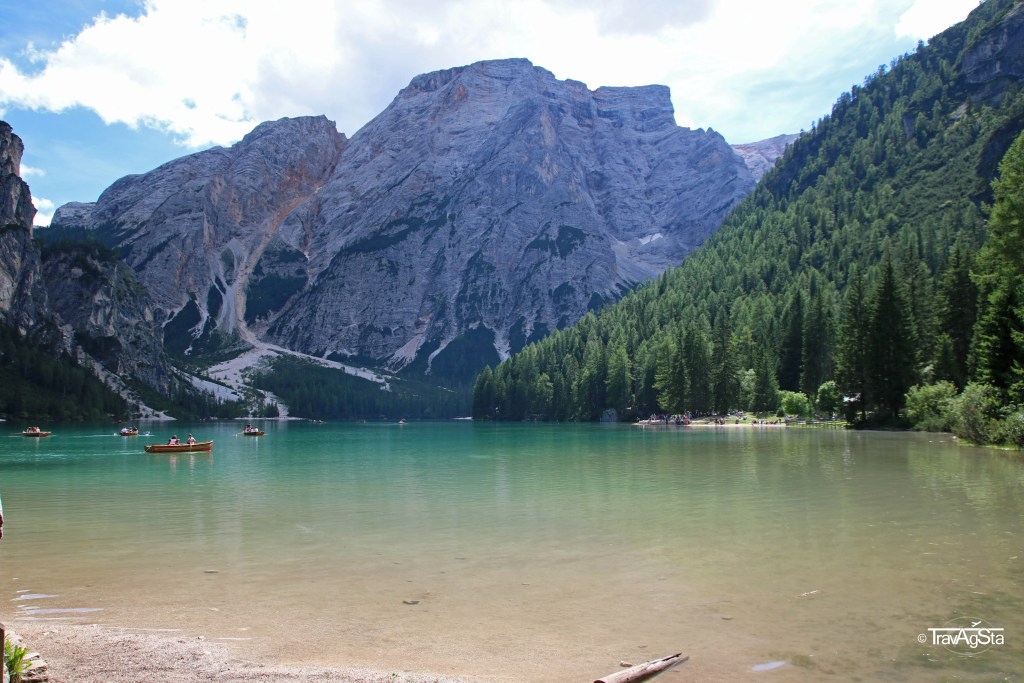 Pragser Wildsee/ Lago di Braies, South Tyrol, Italy