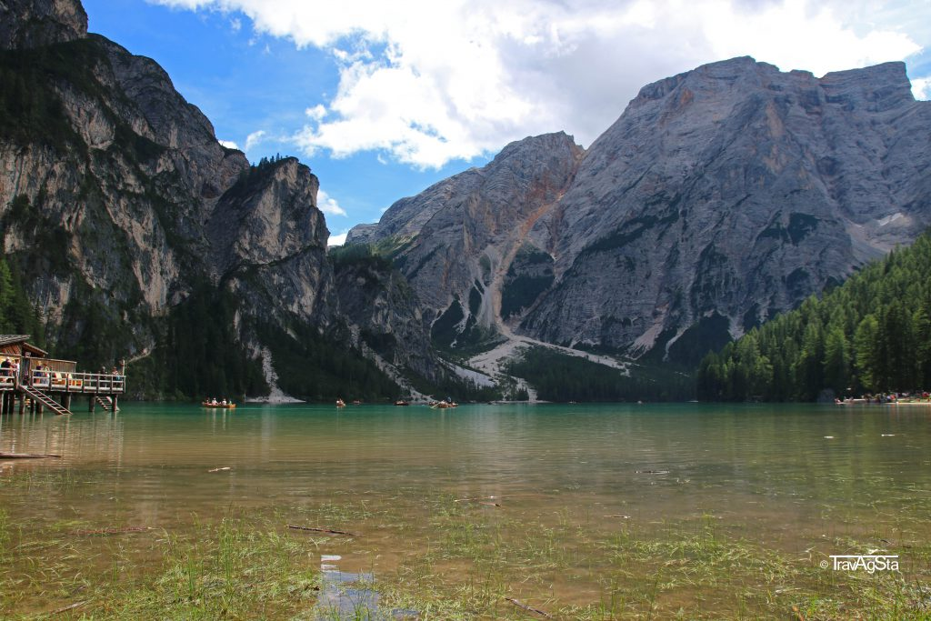 Pragser Wildsee/ Lago di Braies, South Tyrol, Italy