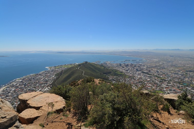 Signal Hill, seen from Lion's Head, Cape Town, South Africa