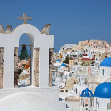Postcard motives on Santorini – and where to find them!