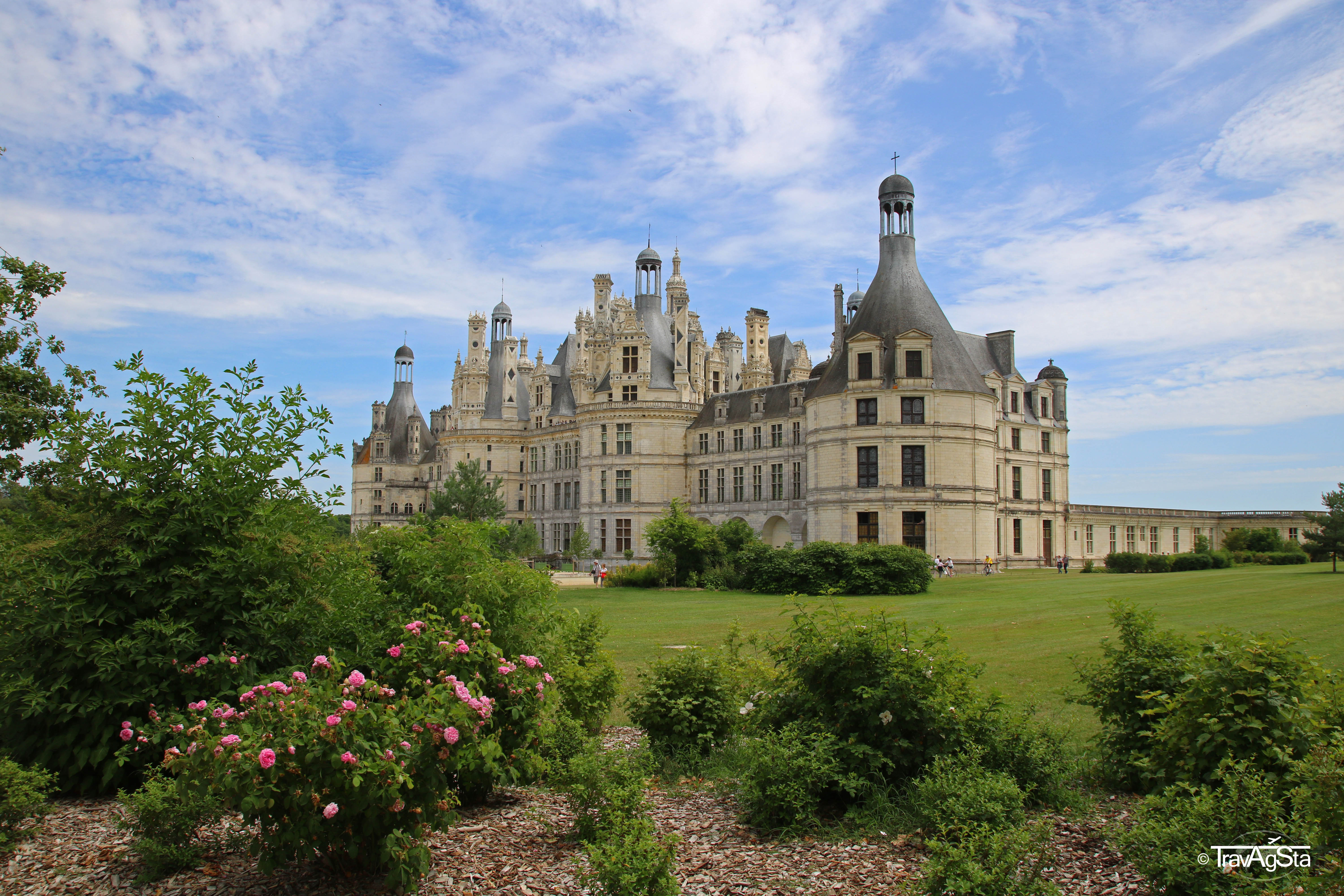 The Loire Valley and its beautiful Châteaus!