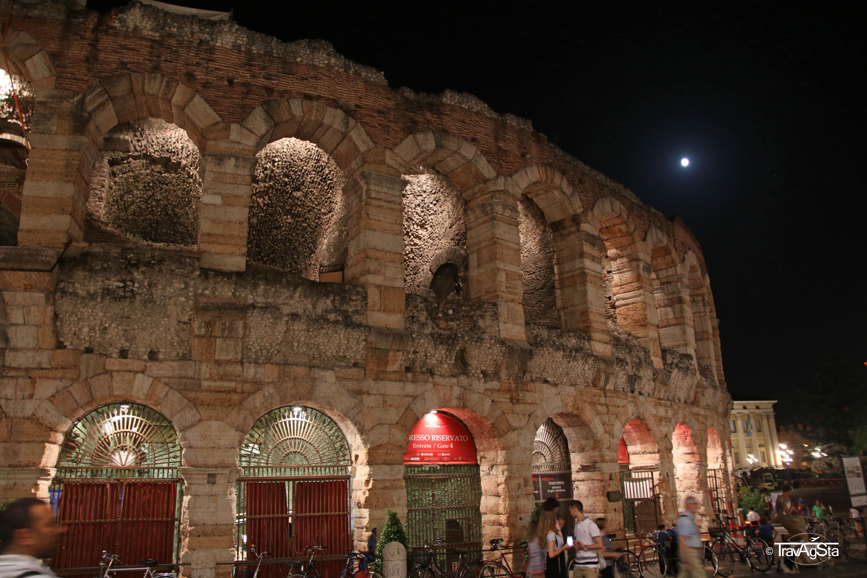 Beautiful Verona – but never again in August!