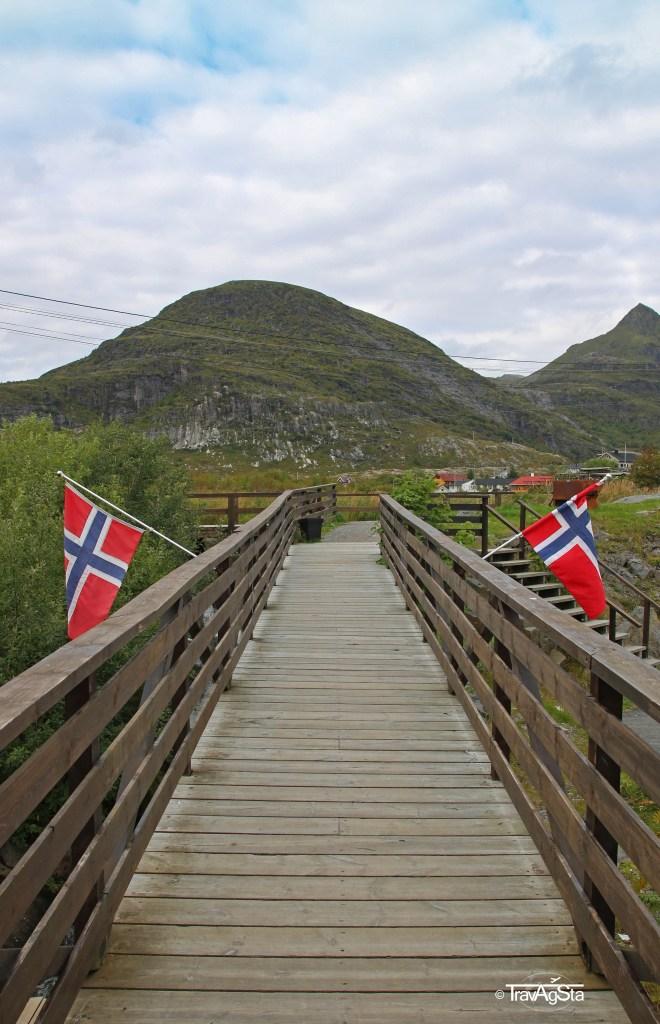 Sørvagen. Lofoten, Norway