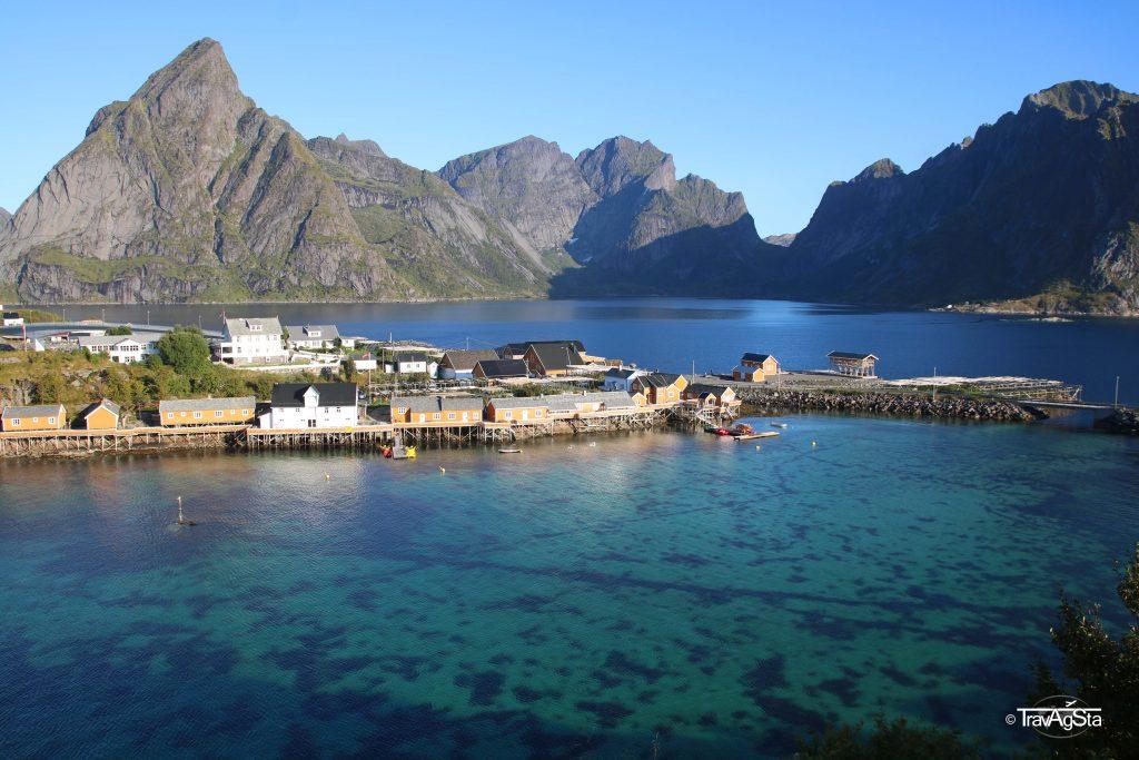 Sakrisøy. Lofoten, Norway