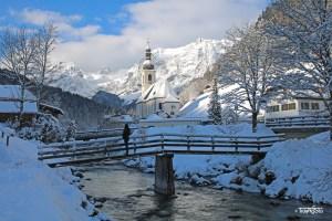 Bayern, Seen und Schnee – Winter Wonderland im Berchtesgadener Land!