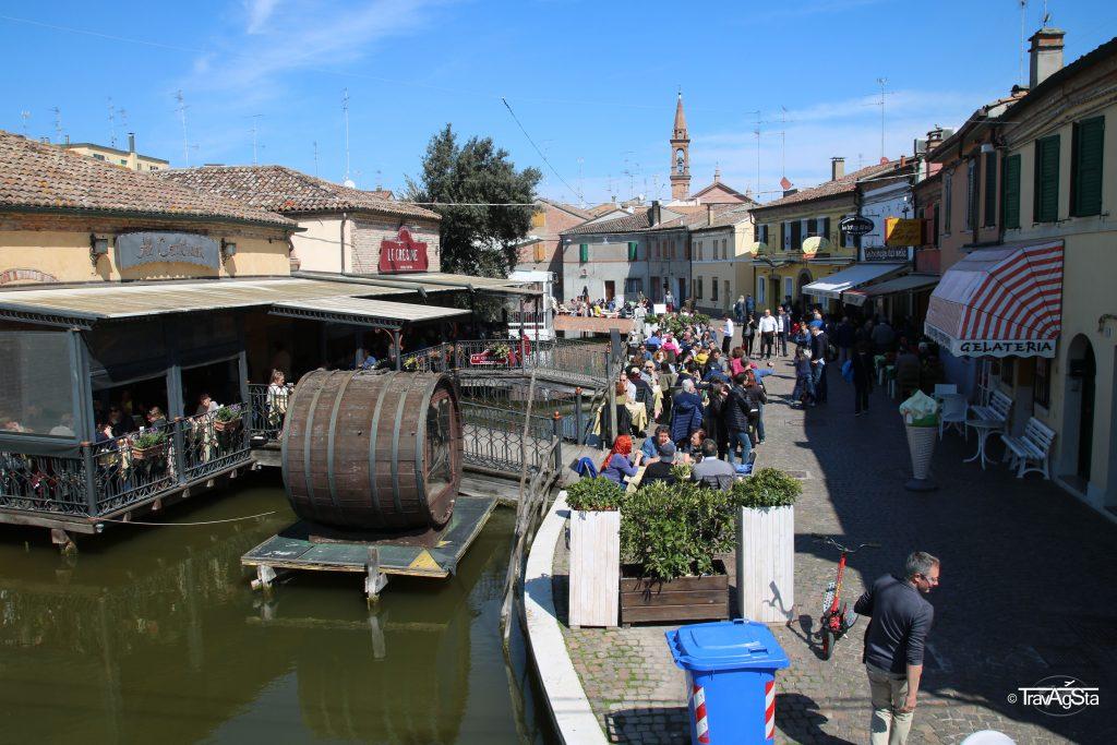 Comacchio, Emilia-Romagna, Italy