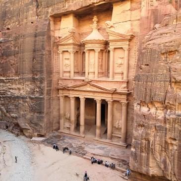 Petra, Jordanien: Eines der sieben neuen Weltwunder!