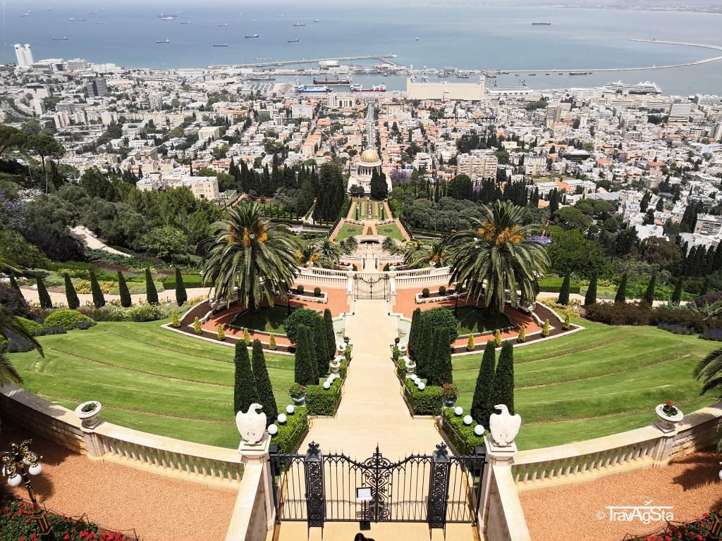 Bahá'í Gardens in Haifa, Israel