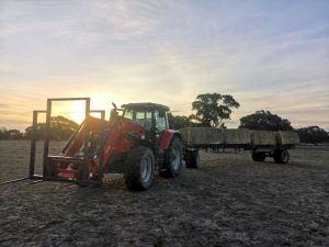 tracteur australie