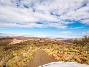 vue sur l'outback australien
