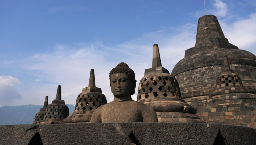 Best places to travel in november borobudur