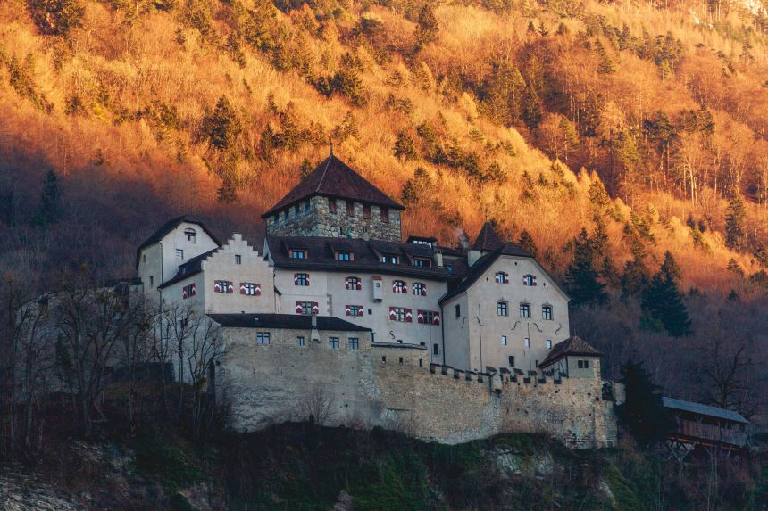 Best places to travel in October Liechtenstein