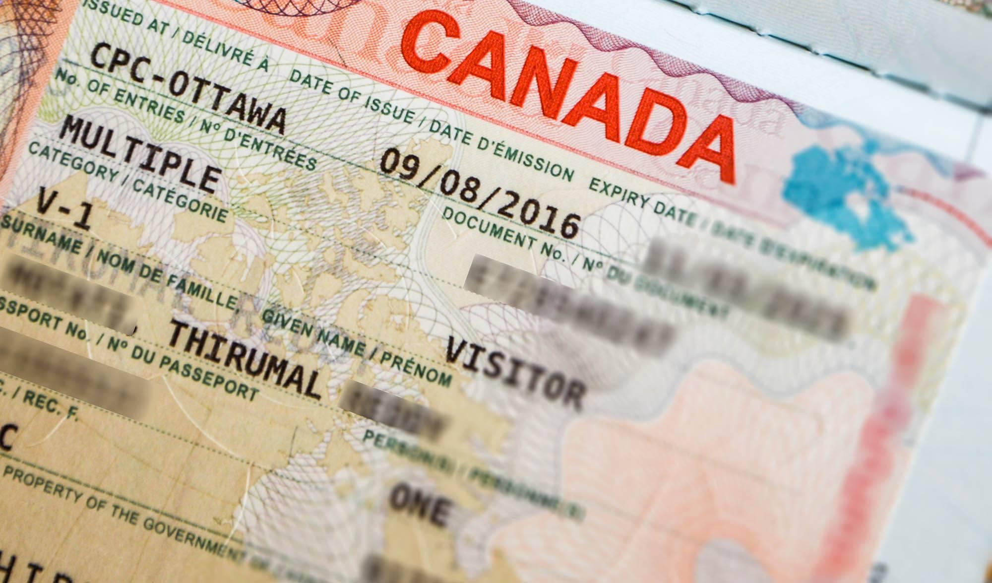 كيفية التقديم على فيزا كندا عبر الموقع الإلكتروني Travboat