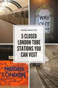 5 Closed London Tube Stations