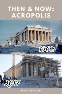 Then & Now - Acropolis in Athens