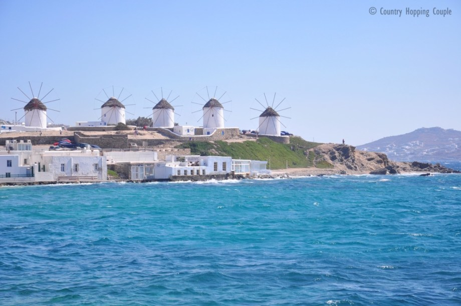 Mykonos Windmisll, courtesey of Country Hopping Couple