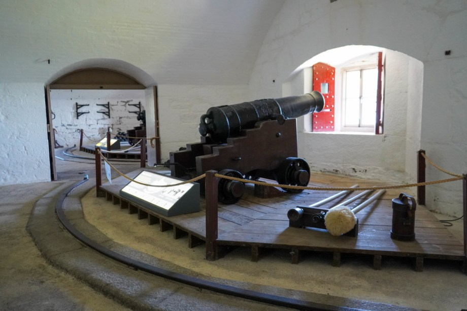 Gun Tower at Dartmouth Castle