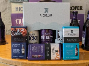 St. Austell's Brewery Chocolate and Beer Pairings