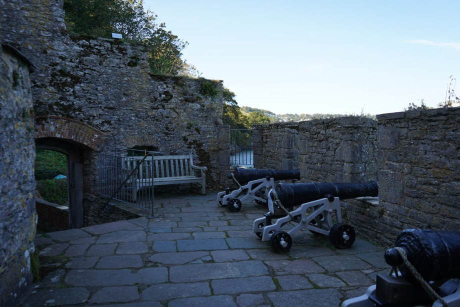 North Gun Platform at Dartmouth Castle