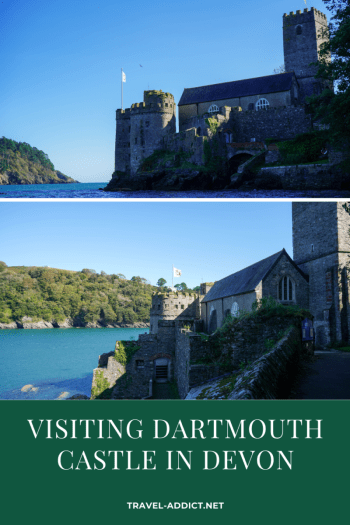 Pin for Visiting Dartmouth Castle in Devon